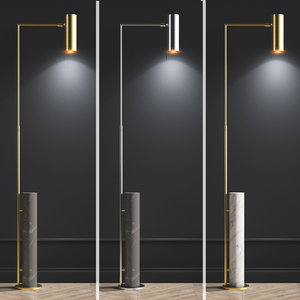 alma floor lamp circa 3D