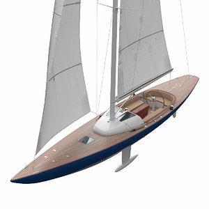3D leonardo yacht eagle 44