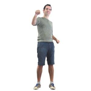 3D summer fist bump