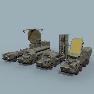 3D russian sa-20 battery model