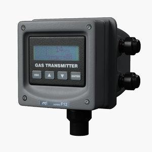 3D gas transmitter