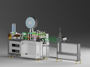 bandage mask machine-automatic machine 3D model