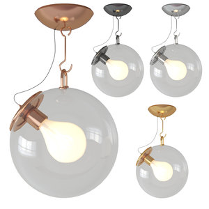 3D model miconos ceiling light