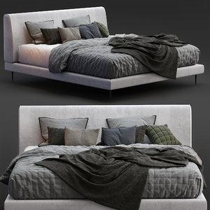 3D boconcept bed arlington