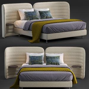 schramm bed calm 2 3D model