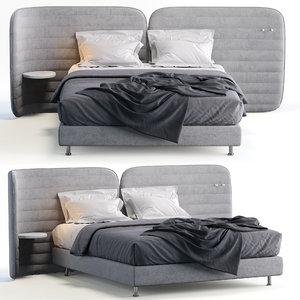 3D schramm bed calm 1