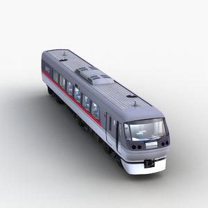 jr train 0001 3D