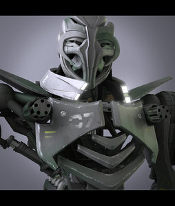 3D robot movies games