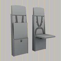 flight attendant chair