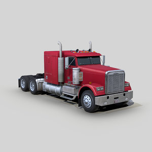 freightliner fld 120 classic 3D
