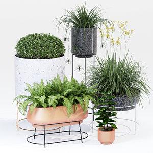 garden vasap 3D model