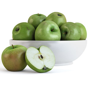 apples fruit 3D model
