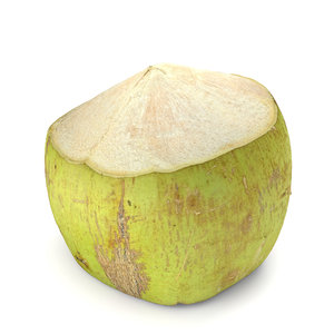 green coconut model