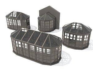 greenhouse modelled model