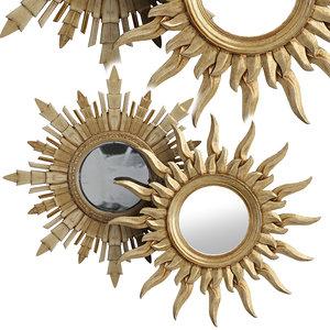 3D eichholtz mirror