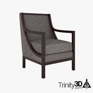 clubroom chair 3D model