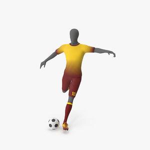 soccer uniform 3D model