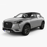 DS 3 Crossback E-Tense with HQ interior 2019