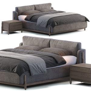 zegen bed ash 3D model