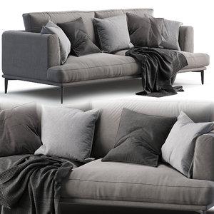 alexis sofa 3D model