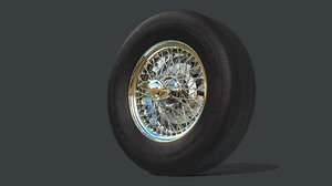 austin-healey wheels 3D model