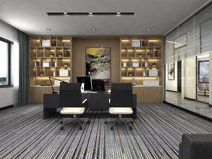 company hall superior office 3D model