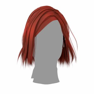 hairstyle classic 3D model