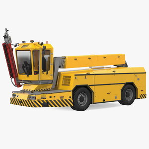 deicing vehicle generic folded model