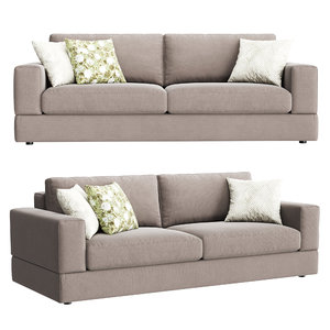 3D confort line abaco sofa