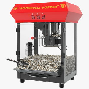 3D great northern popcorn popper