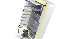 3D graphic refrigerator