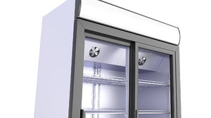refrigerator store 3D