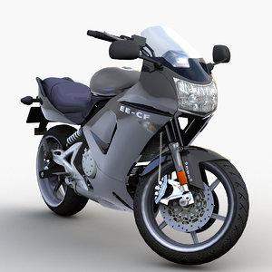 japanese motorcycle 0002 3D model