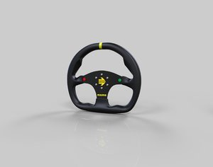 momo steering wheels 4 3D