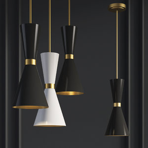 chandelier delightfull cairo pendant 3D model