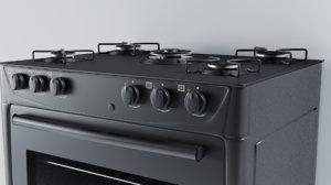 3D stove