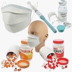 3D model vaccine medical