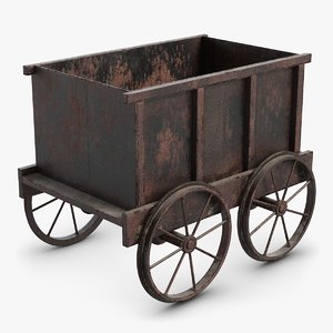 tub trolley small 1 3D