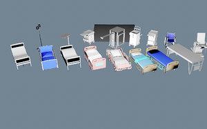 3D model hospital goods