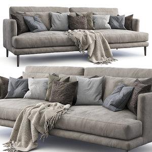 3D bonaldo sofa paraiso