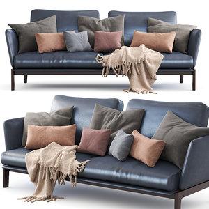 3D molteni c chelsea sofa model