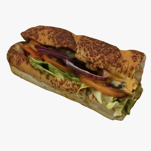 sandwich subway model
