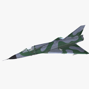dassault mirage iii 3D model