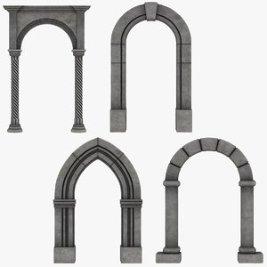 3D realistic arch