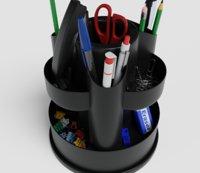 plastic desk organizer pen holder