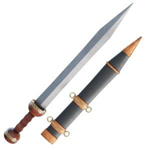 roman centurion sword sheath 3D model