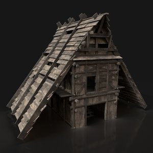 house viking 3D model