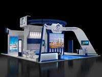 Booth Exhibition Stand(1)(2)