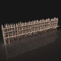 Next Gen AAA Wooden Palisade Walls
