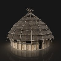 Next Gen AAA ROUND THATCHED FANTASY MEDIEVAL HOUSE COTTAGE HUT